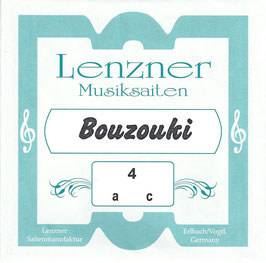 Lenzner Griechische Bouzouki Saiten Set. F 3700
