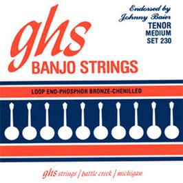 GHS Tenor Banjo Johnny Baier Signature ( Set 230 )