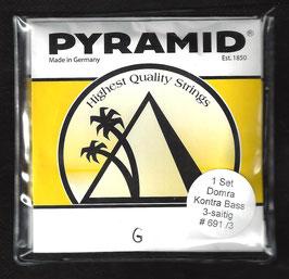 Pyramid Kontrabass Domra Saiten (Art.Nr.691/3)