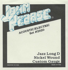 John Pearse Nickel Wound Custom 013-056 Set #2920
