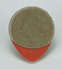 Dunlop Tortex Tear Drop Plektrum 060 mm Wildleder Grifffläche