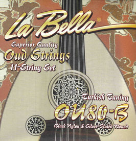 La Bella 11 Saiten Oud Turkish Tuning OU80-B