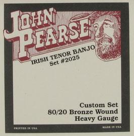John Pearse® Tenor Banjo Custom, .013 - .040,  Set 2025H (BEJS)