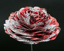 Papierrose ( Farbe R6)