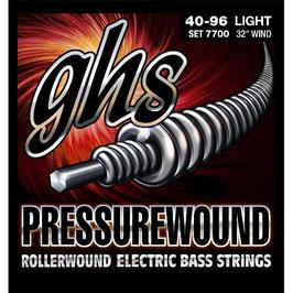 GHS Pressurewound .040-.096, Light  (7700-Set) (BE 14)