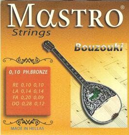 Mastro Bouzouki 8 Strings 0,10 Phosphore Bronze