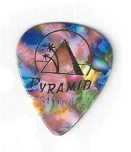 Pyramid Celluloid Plektrum, Extra Heavy