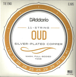 D'Addario Oud Silver Plated Wound 022-041 EJ95