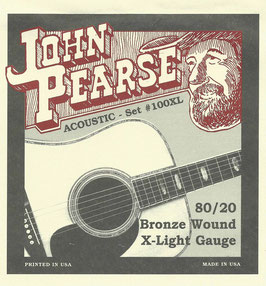 John Pearse 80/20  Extra-Light 010-047 Set #100XL