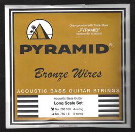 Pyramid Akustik 80/20 Bronze Bass Saiten (Art.Nr. 780 100)