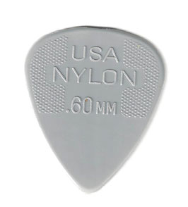 Dunlop Nylon Standart Plektrum 0.60 mm