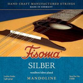 Lenzner, Fisoma, Silber, Mandoline Saiten. (Satz F 3000)
