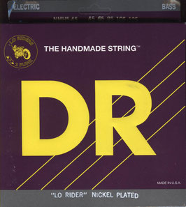 DR Strings Lo-Rider Nickel Plated Medium 045-125 NMH5-45