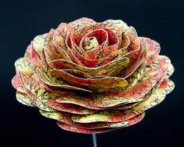 Papierrose ( Farbe R3)