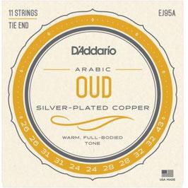 D'Addario Arabic Oud 11-String Set (EJ95A)