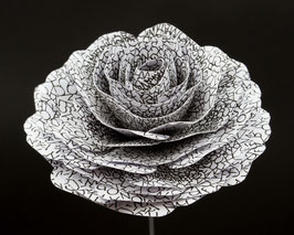 Papierrose ( Farbe  N1 )