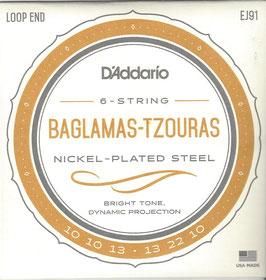 D'Addario Baglama Tzouras 6-String, EJ91