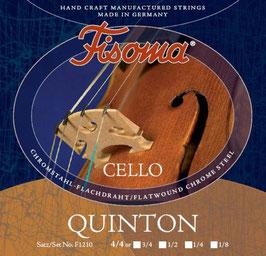 Lenzner Cello Saiten Fisoma Quinton, Satz F1210