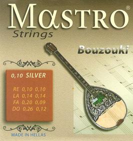 Mastro Bouzouki 8 Strings 0,10 Silver