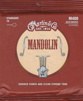 Martin Mandolin 80/20 Bronze Wound 8 String M-400