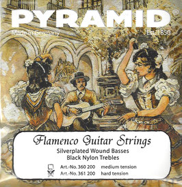 Pyramid Flamenco Gitarre, harte Spannung (Art.Nr. 361 200)