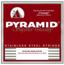 Pyramid Elektro Bass Stainless Steel, Low Bottom Five X-Lite  (Art.Nr.858 100) (BE)
