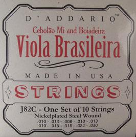 D'Addario Viola Brasileira 10 Strings J82C