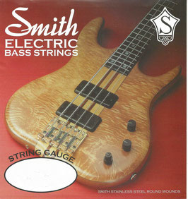 Ken Smith Electric Bass Double Ball Stainless Round Wound 6 String, .030 - .125, AA-DB-RWM-6 (BEJS)