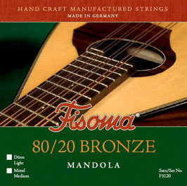 Lenzner Mandola 80/20 Bronze Medium ( F3120 M)