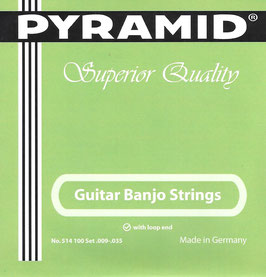 Pyramid Guitar Banjo Saiten Loop End Set. 514 100