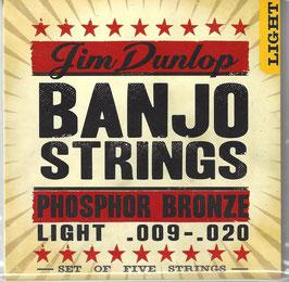 Dunlop Banjo Bronze Wound Light (DJP0920)