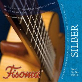 Konzertgitarre Fisoma Silber (Set F2710)