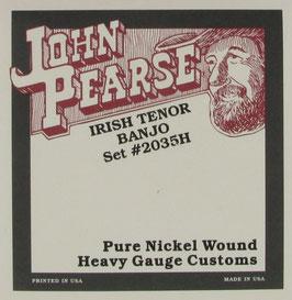 John Pearse® Tenor Banjo, .013 - .040, Set 2035H (BEJS)