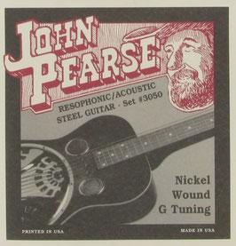 John Pearse® Resophonic Guitar Nickel G Tuning Uncle Josh, .018 - .059, 3050 (BEJS)