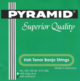 Pyramid Irish Tenor Banjo Ball End Set.523 100