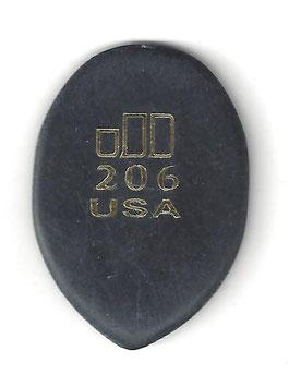 Dunlop Jazztone, Medium Tip Plektrum ( 206 )