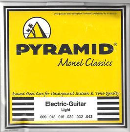 """Pyramid """" Monel Classics """" Light, .009 - .042 (Art.Nr. MO0942)"""