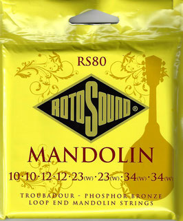 RotoSound Mandolin Loop End, .010 -.034, RS80