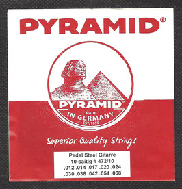 Pyramid Pedal Steel Gitarre Saiten ( Art.Nr.472/10)