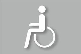 Rollstuhlfahrer - Behinderten Symbol