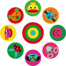Tiere-Zirkel