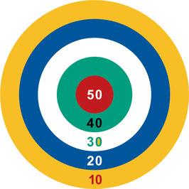 Ring Spiel und Farbziel-Spiel