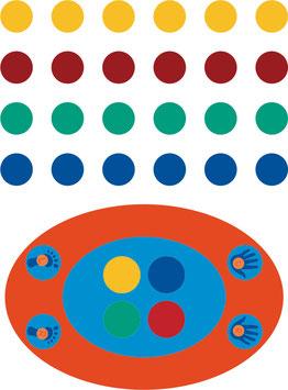 Twister Spiel und Twister Punkte