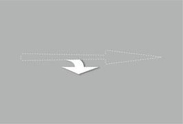 Zusatzpfeile links oder rechts, zur Montage an den Geradeaus Pfeil