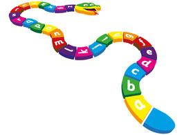 3D A-Z Snake - Alphabetschlange