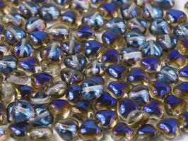 Glass Hearts Crystal Azuro