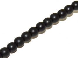 Metallic Black 6 mm