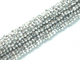 Cut Beads 1mm Crystal Labrador full