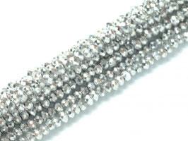 Cut Beads 1mm Crystal Labrador full