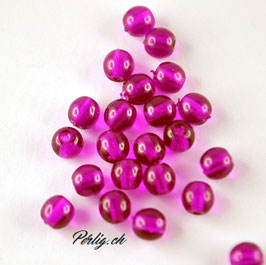 Crystal dark Purple 4 mm